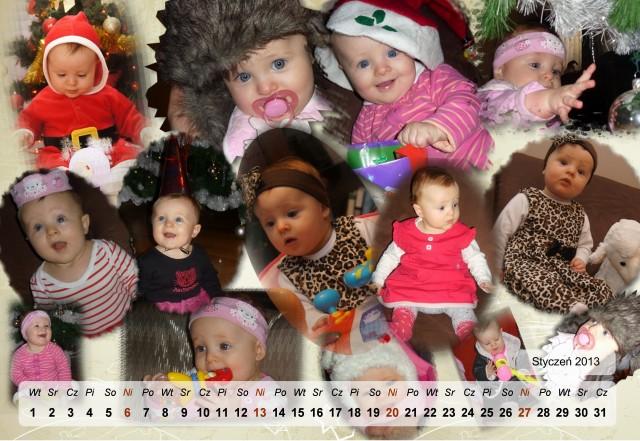 Kalendarz styczeń 2013