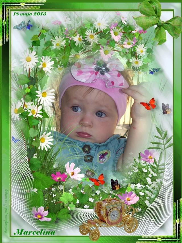 Marcelina - skończyłam 11 miesięcy